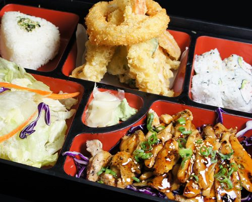 CHICKEN TERIYAKI BOX